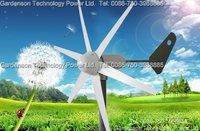100W Wind turbine generator, intelligent controller, 12V/24V auto distinguish Wind generator
