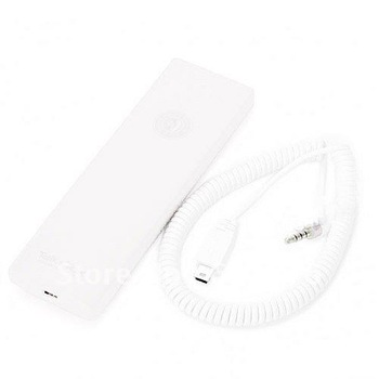 Portable Handset for iPhone, iPad, Smart Phone, Tablet PC, PC, Notebook, MID, VoIP, Messenger, Skype (White)
