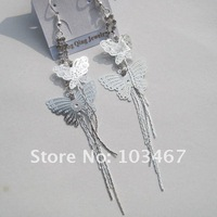 rhinestone earring 12pcs/lot  long style 2012 new design