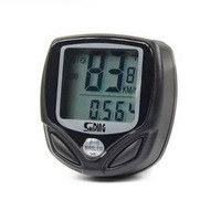 Free Shipping Waterproof Wireless Cycle Computer Bicycle Speed Scale Meter Speedometer Wholesale E01020123