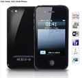 3.15 inch 5GS 16GB Wifi Analog TV Java Dual Cards Touch Screen Cell Phone (BLACK)