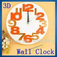 Настенные часы DIY 3D