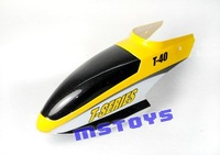 Yellow  canopy  for T40 RC Helicopter spare part Accessory JX thunderbird T640 RC wholesale
