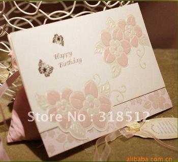 New Arrive -Happy Birthday  Invitations ,Birthday Party Card Invitations ,Free Wording Printing