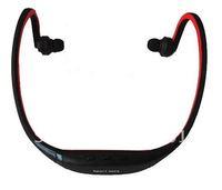 Free shipping New Earphone Sports MP3 WMA Music Player Wireless Handsfree Headset Micro SD TF Card