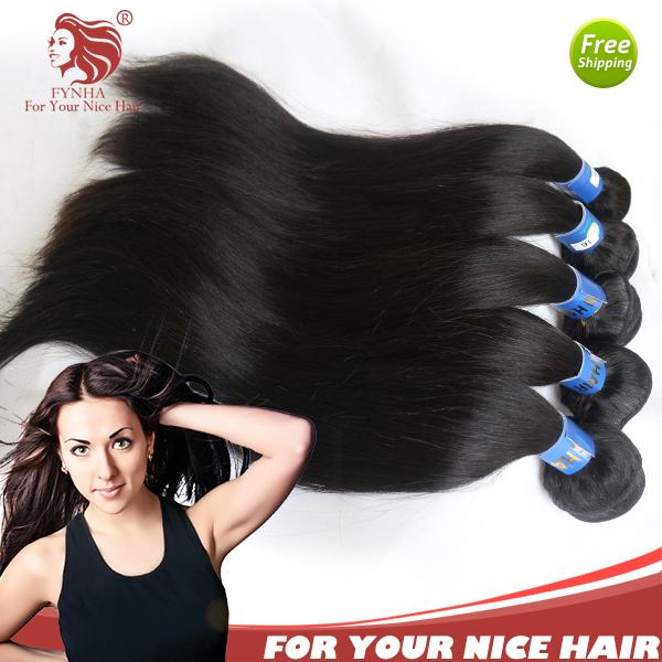 Hair Weave human hair extensions natural black hair from Reliable hair