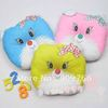 Lovely Baby&#39;s Pillows Little Cat Children&#39;s Nursery Bedding to Fix the Position When Baby Sleeps Mixed Colors 20pcs PL202