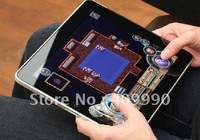 Wholesale 200pcs Game Controller Analog Joypad Joystick for iPad2 Transparent + Gray,Free Shipping