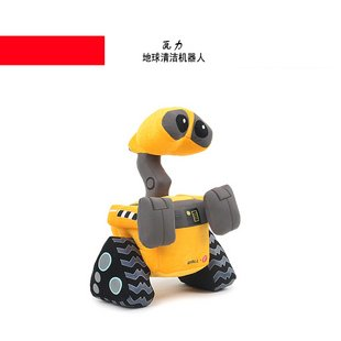 Candice guo! Super cool hot sale plush toy Wall-e doll desk decoration good for gift 28cm 1pc