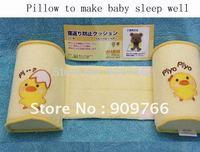 Baby Pillows Baby Shaped Pillow Little Chicken Anti-roll Sleep Positioner Comfort Newborn Sleep Pillows 10pcs PL208