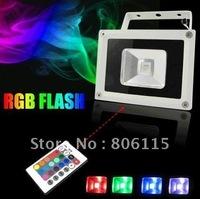 Waterproof Outdoor 10W  20W 30W RGB LED Flood light , free shipping
