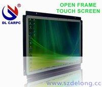 12.1'' open frame  aluminium housing LCD  touch screen withVGA/AV