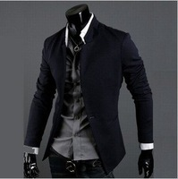 Free Shipping  New Fashion Stylish Men's Suit, Men's Blazer, Business Suit, Formal Suit, Color: Black,Gray,Navy Size: M-XXL