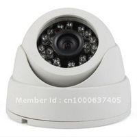 Free shipping !!!Plastic snail shape, 3D free rotation, CCTV Camera, IR night vision Dome camera600TVL