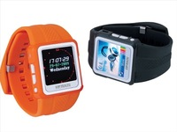 """Promotion price free DHL , New!!! 1.5""""TFT MP4 Watches with 2GB ,mp4 player , mp4 watch ,ebook ,FM radio , Music And Video Player"""