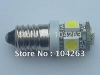 Wholesale Free Shipping E10 Ba9s T10 5 SMD 5050 LED Light ,DC12v or DC24V  5SMD 24V