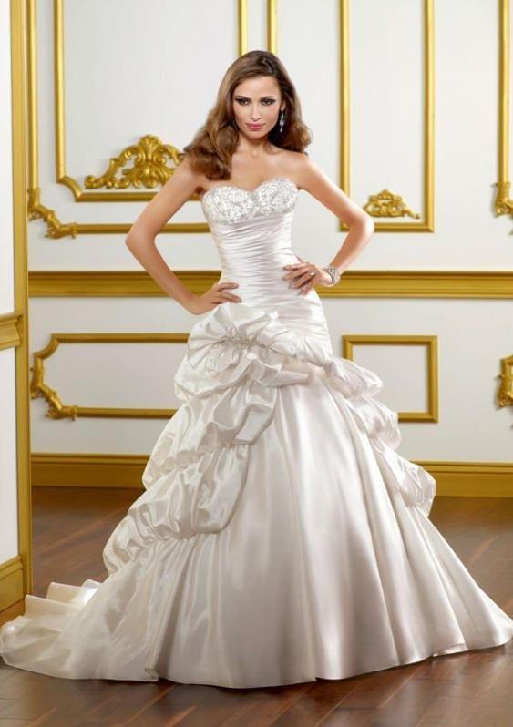 2012 white hot satin vintage wedding dress free shipping many ...