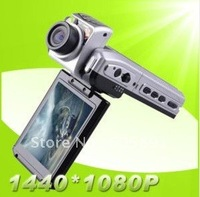 "HD Car DVR Cam Recorder Camcorder Motion detect F900LHD, HD 1080P + 12 Mega Pixels + 2.5"" LTPS TFT LCD + Wide Angle 120 Degree"