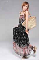 [Free shipping]  Hot sale Women Desse,Fashion Ladies' Dess,Nice Chiffon Dress,Retail and Wholesale/Super Price