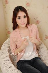 2013 Womens thin bat knitted cardigan / Spring shrug / summer shrug / ladies' sweater