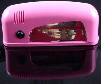 EU PLUG UV GEL BUILDER GEL CURING LAMP 220V 9W UV LIGHT DRYER MACHINE For UV NAILS DESGIN 058