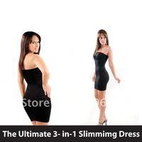 Lipodress - The Seamless Body Shaper Magic Dress Utimate 3 in 1 garment Shape Changers Lipo Dress 10pcs/Lot FreeShipping