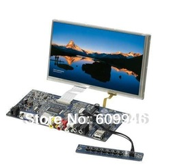 "7"" Touch screen LCD Monitor SKD Module Display Kit widescreen 16:9/Resolution 800X480(China (Mainland))"