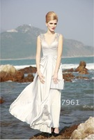 Free shipping wholesale 2012 Sexy White Mermaid  Lace Wedding Dress size custom-made FF473