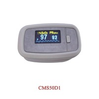 CMS50D1 Fingertip Pulse Oximeter, SPO2 Monitor, Blood Oxygen Monitor, Oxygen Saturation, Oximetry , 3 years warranty