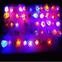 Glowing ring/soft plastic flashing rings/flash toys/shine toys