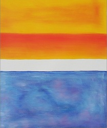 Museum quality Yellow, Red, Blue by Rothko abstruct canvas handmade oil paintings reproduction,handpaint oil paintings artwork(China (Mainland))