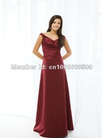 Платье для подружки невесты B231111 Spaghetti Straps Draped Empire Chiffon Green Color Knee-Length Bridesmaid Dresses Custom Made