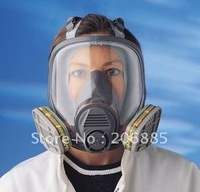 3M 6800 Full Facepiece Protective face mask + 6001 Replaceable Cartridges for gas mask/ chemical respirator/Seven sets