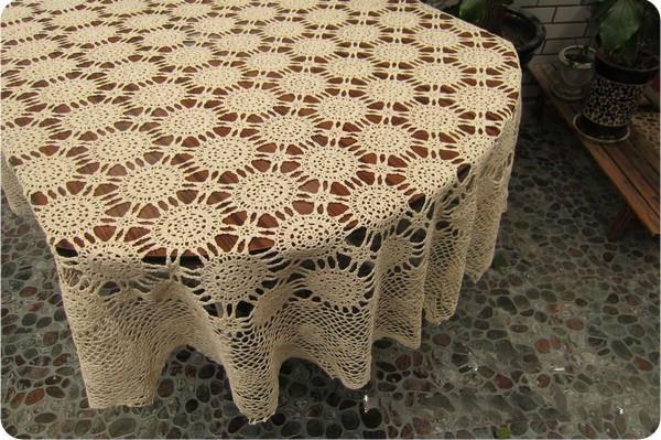 Mantel ovalado crochet esquema - Imagui