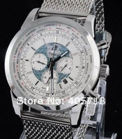 Free Shipping Wholesale - Hot Sale 100%Brand New Automatic Movement Watch Stainless steel Men's Watches Wristwatch