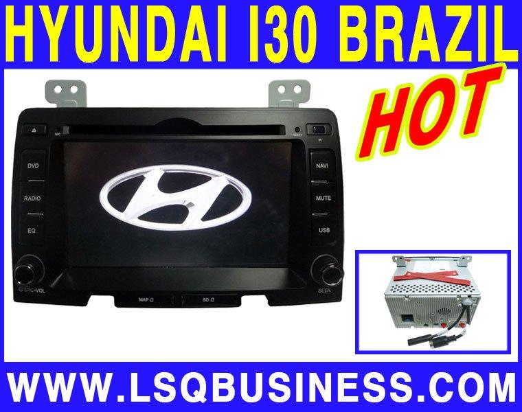 2 Din 7 inch Hyundai I30 Car DVD Player with DVD/CD/MP3/MP4/Bluetooth/IPOD/Radio/TV/GPS/ISDB-T! hot selling!(China (Mainland))