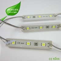 2012 Hot-sale ! Waterproof 3 5050 white color led pixel module light  For light box With CE ,ROHS/2 Warranty +wholesale [Rohopa]