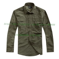 511 Men's Quick Dry Tactical Shirt,OD GREEN+Free shipping