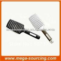 DHL Free Shipping 240 pcs/lot Keratin Complex Curved Vent Brush black