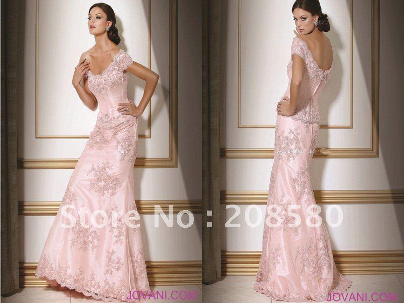 Pembe Abiye Elbise Modelleri 2013