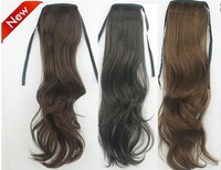 "22"" 70g New Clip Claw Ponytail loose curls India blended  human hair,free shipping"