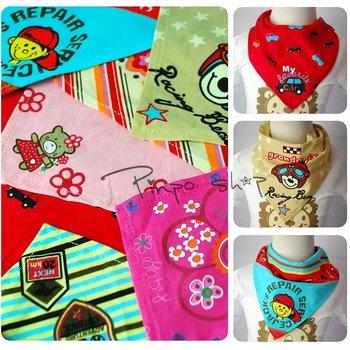 Good quality baby's Saliva wipes triangular scarf baby cotton kids apron,baby saliva towel,Freeshipping