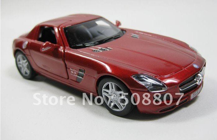 Lexus Mercedes SLS AMG Die Cast car model 1:36(China (Mainland))