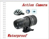 2pcs/lot   AT18  Waterproof Helmet Video action camera Sports Cam DVR