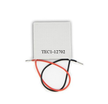 10pcs/ lot, TEC12702Peltier,12702 TEC Thermoelectric Cooler Peltier 12V, peltier module 12702, peltier 12702 cells