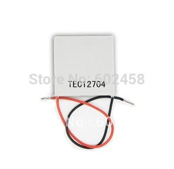 10pcs/ lot, TEC12704Peltier,12704TEC Thermoelectric Cooler Peltier 12V, peltier module 12704, peltier 12704 cells