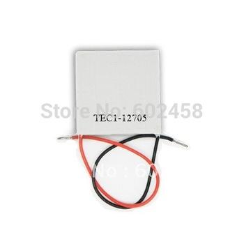 10pcs/ lot, TEC12705Peltier,12705TEC Thermoelectric Cooler Peltier 12V, peltier module 12705, peltier 12705 cells