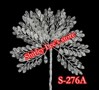 Wholesale--HOT SALE!!!! 48 X  Clear Acrylic Wheat Branch (S-276A),Wedding decoration etc. *Free Shipping BY EMS*