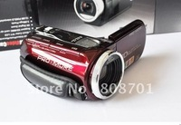 "20pcs HD C4 2.7"" LCD 12.0MP Mini DV Digital Camera Camcorders 8X Digital Zoom High Quality Popular  Free Shipping"