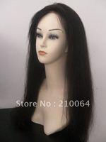 "AAA quality 22"" virgin brazilian  hair full lace wigs baby hair free shipping"